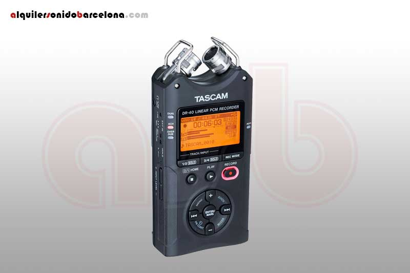 Tascam DR40 - Grabador digital portatil